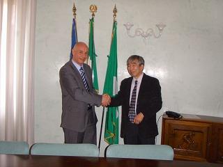 Cremona商工会議所、Adbrea Rubini氏 とともに